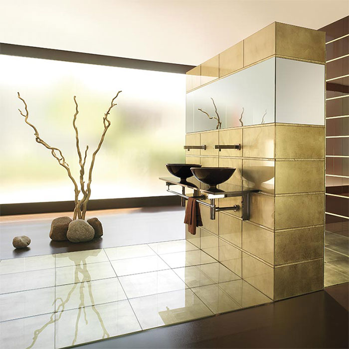 Vetrocolor Italian Glass For Coverings - Colored-and-clear-glass-tiles-by-vetrocolor